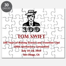 Tom Swift logo Puzzle