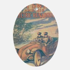 Tom Swift and his Electric Runabout Oval Ornament