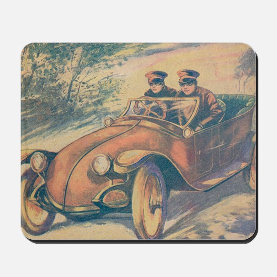 Tom Swift and his Electric Runabout 2 Mousepad