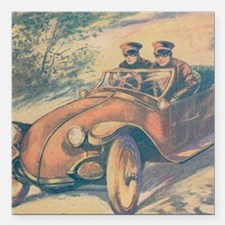 """Tom Swift and his Electr Square Car Magnet 3"""" x 3"""""""