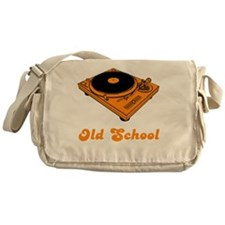 Old School Messenger Bag