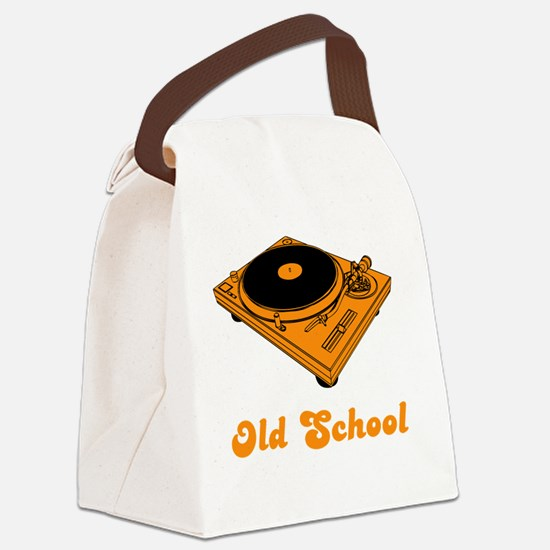 Old School Canvas Lunch Bag