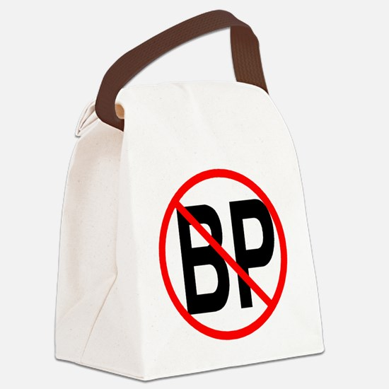 no bp1 Canvas Lunch Bag
