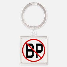 no bp1 Square Keychain