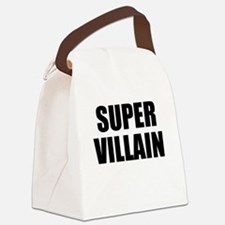 Super Villain W Canvas Lunch Bag