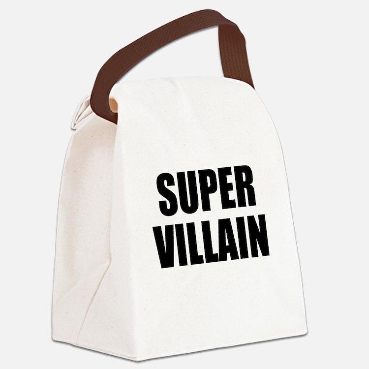 Super Villain W Canvas Lunch Bag