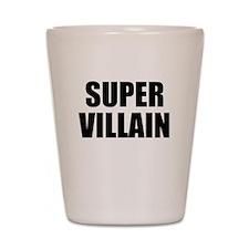 Super Villain W Shot Glass