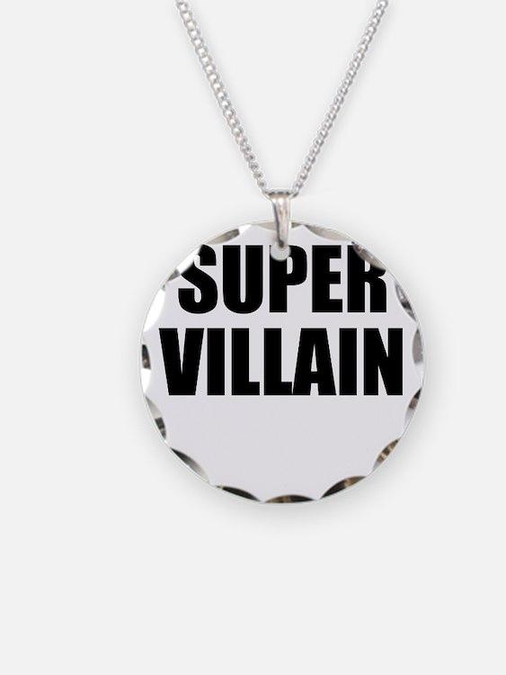 Super Villain W Necklace