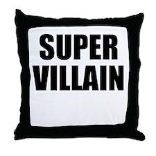 Super Villain W Throw Pillow