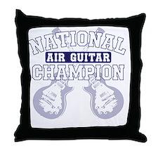 airguitar Throw Pillow