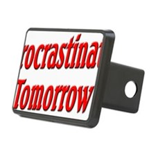 Procrastinate Tomorrow Hitch Cover