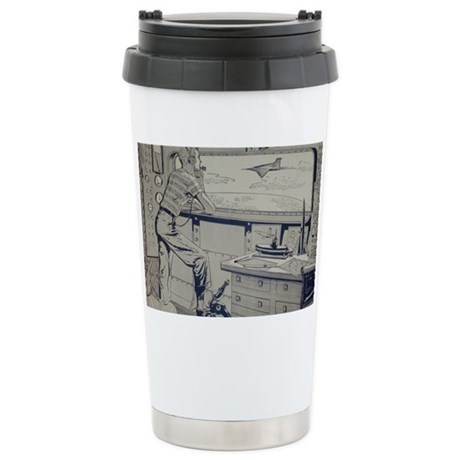 Tom Swift endpapers Stainless Steel Travel Mug