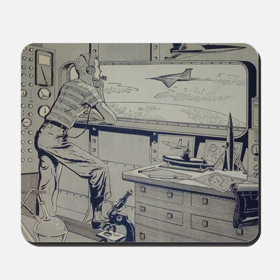 Tom Swift endpapers Mousepad