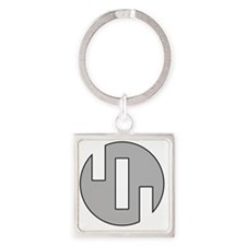 1 Square Keychain