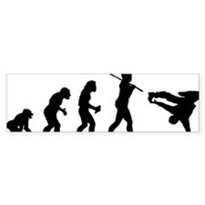 Breakdancer Bumper Sticker
