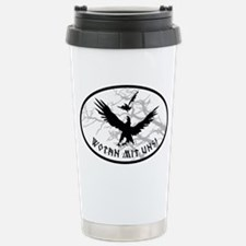 ravens no bg Stainless Steel Travel Mug