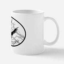 ravens no bg Mug