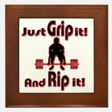 Grip and Rip it Framed Tile