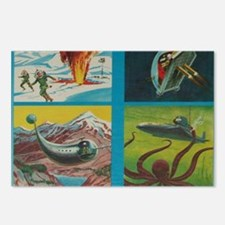Tom Swift Junior 4 Postcards (Package of 8)