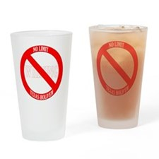 whining_wh Drinking Glass