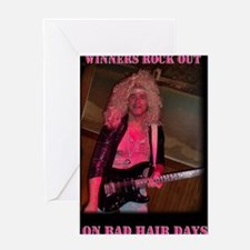 badhairday Greeting Card