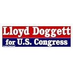 Vote Lloyd Doggett Bumper Sticker