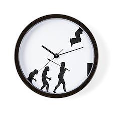 Parkourist Wall Clock