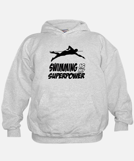 swimming is my superpower Hoody