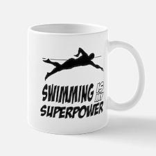 swimming is my superpower Mug