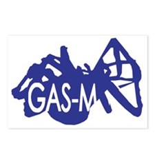 Gas-M Postcards (Package of 8)