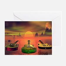 greenoversea Greeting Card