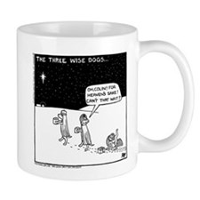 Three Wise Dogs Mug