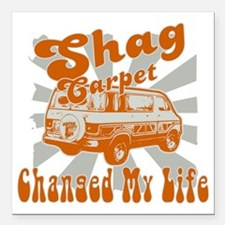 "SHAGVAN2 Square Car Magnet 3"" x 3"""