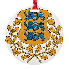 Coat of arms of Estonia Ornament