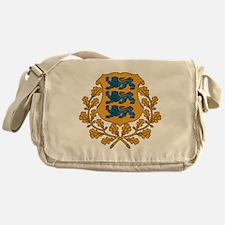 Coat of arms of Estonia Messenger Bag