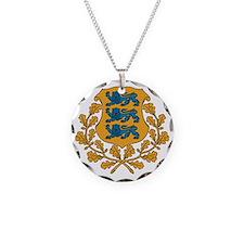 Coat of arms of Estonia Necklace