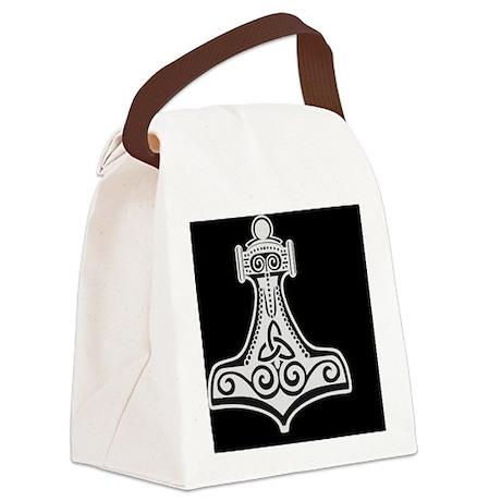 ThorsHammer22.gif Canvas Lunch Bag