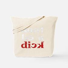dick_white.gif Tote Bag