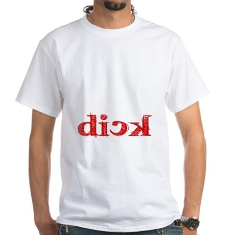 dick_white.gif White T-Shirt