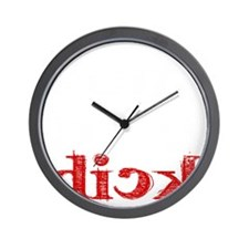 dick_white.gif Wall Clock