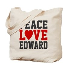 Peace Love Ed Tote Bag