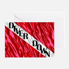 DiveS2 Greeting Card