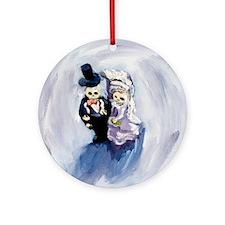 Voodoo Wedding #1 Round Ornament