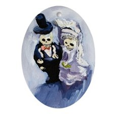 Voodoo Wedding #1 Oval Ornament