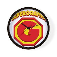 SUPERGRAMPA Wall Clock