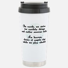 uke benediction Stainless Steel Travel Mug
