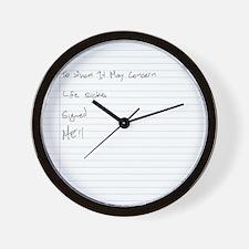 TWIMC_02 Wall Clock