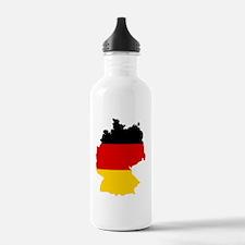 d-flag-shape Water Bottle