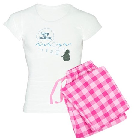 alseep but dreaming2 copy c Women's Light Pajamas