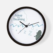 alseep but dreaming2 copy copy Wall Clock